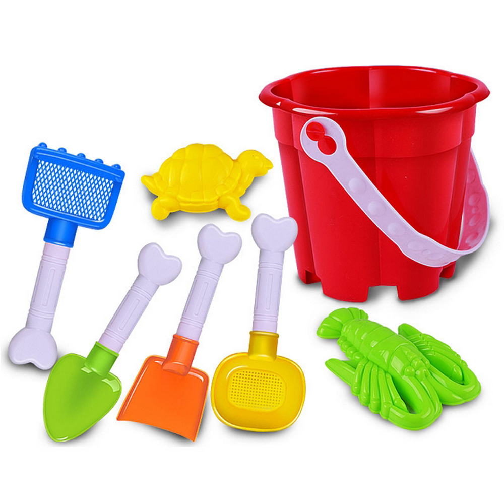 7 Pieces/set Kids Beach Toys Sand Playing Tools Summer Style Bath Toys Play In Water Toy For Baby Play House