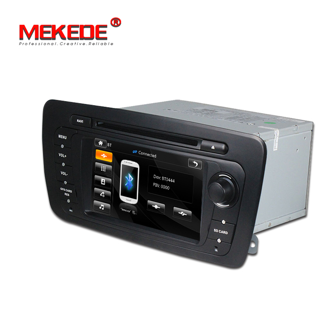 Darmowa dostawa! Windows ce6.0 nawigacja samochodowa gps dvd radio samochodowe samochodowy odtwarzacz multimedialny dla seat ibiza 2009 2010 2011 2012 2013 z 8GB