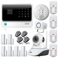 New Product WiFi Alarm System Door gap sensor Internet GSM Alarm System Home Alarm Security wireless ip camera Detector Sensor