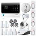 Novo Produto WiFi Internet GSM Casa Sistema de Alarme Sistema de Alarme Da Porta gap sensor Detector de Alarme de Segurança sem fio câmera ip Sensor