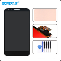 White For LG Optimus G2 D802 D805 LCD Display Touch Screen Digitizer Full Assembly Replacement Part