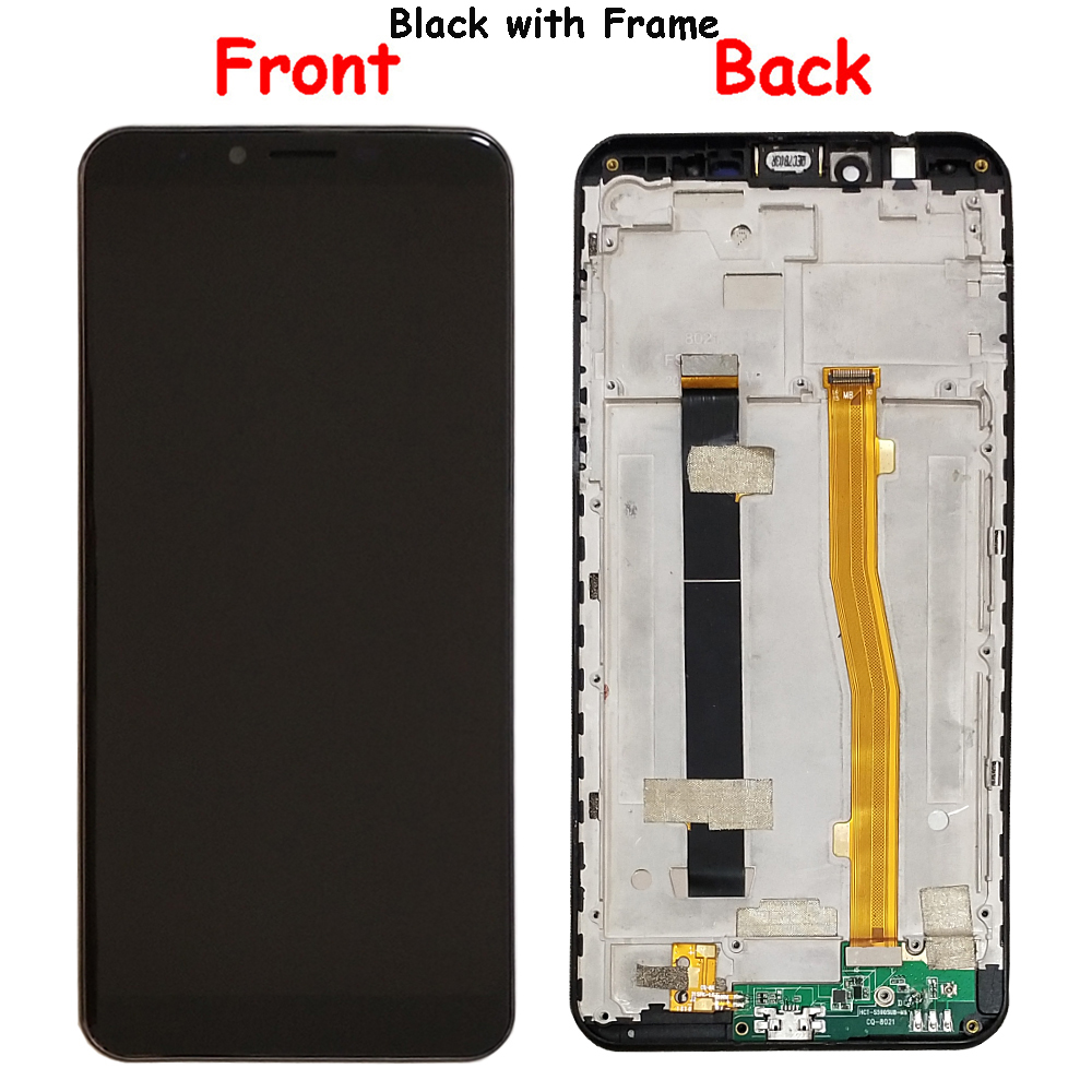 For NUU Mobile G2 LCD Display and Touch Screen With Frame Assembly Replacement With Tools For NUU Mobile G2 - 3