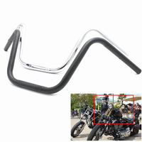 1 25mm Drag Handlebar Handle bar For Harley Honda Chopper Big Dog Bobber Custom