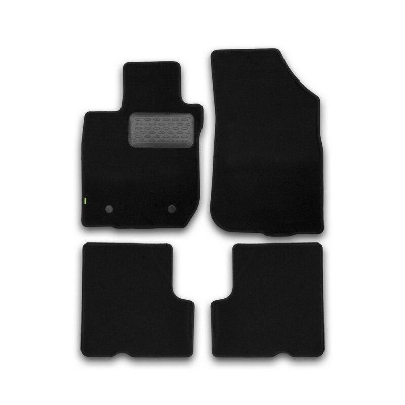 Mats in salon Klever Standard For RENAULT Sandero 2010-> хб... 4 PCs (textile) цена и фото