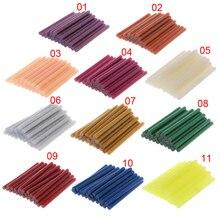 25pcs 100g Hot Melt Glue Stick Glitter 7x100mm Adhesive For DIY Craft Toy Repair W329