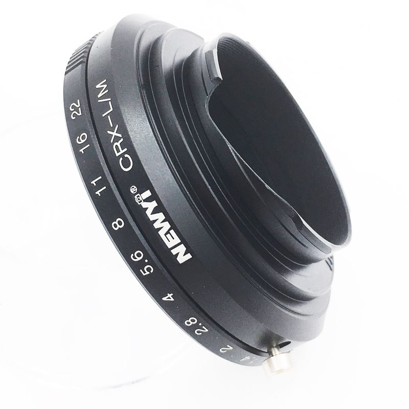 Image 4 - NEWYI Contarex CRX Lens for Leica M LM M4 M5 M6 M7 M8 M9 MP Techart LM EA7 Adapter camera Lens Converter Adapter Ring-in Lens Adapter from Consumer Electronics