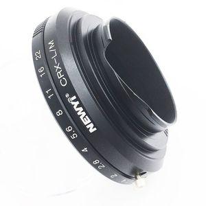 Image 4 - NEWYI Contarex objectif CRX pour Leica M LM M4 M5 M6 M7 M8 M9 MP Techart LM EA7 adaptateur caméra lentille convertisseur anneau adaptateur