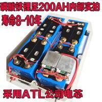 High drain 12V 100AH,120AH,200AH Lithium iron phosphate li ion Batteries for motor homes/boat/outdoor emergency Power bank