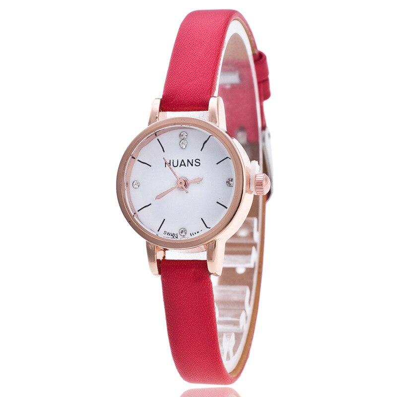 Relogios2018новинка мини нежный маленький циферблат мода студент дети дамы браслет часы несколько цвет кожа леди платье часы