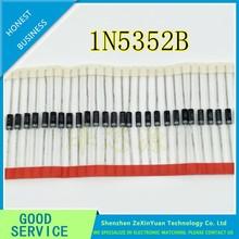 100 sztuk 1N5352BRLG 1N5352B 1N5352BG 1N5352 5W 15V IN5352B IN5352 DO-17 nowa i oryginalna dioda zenera wysokiej jakości