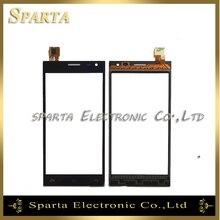 """5.0 """"сенсорная Панель Планшета Для Ведущего 5 Leagoo Сенсорный Экран Спереди стекло ТП Для Leagoo Ведущий 5 MTK6582 Quad Core Сенсорный датчик"""