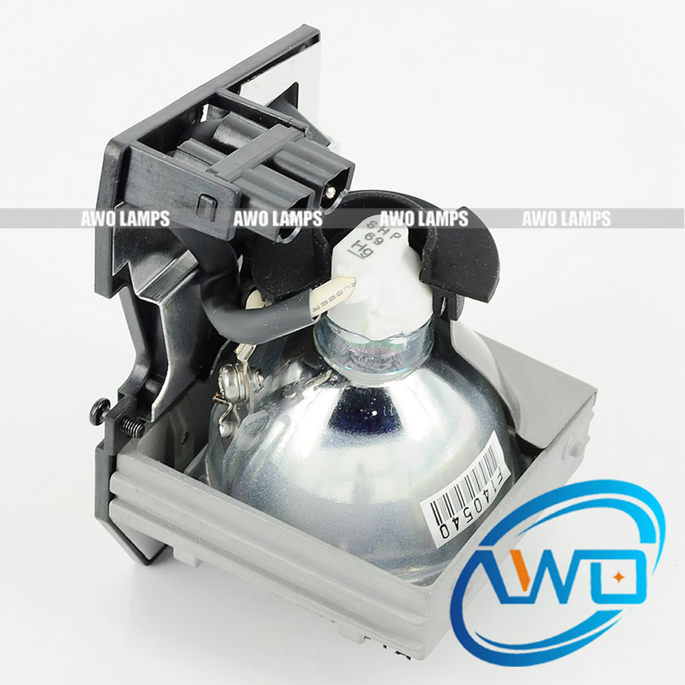 AWO Original BL-FP200B / SP.81R01G001  Projector Lamp SHP69 inside with Housing for OPTOMA MovieTime DV10 ec k0100 001 original projector lamp for ace r x110 x1161 x1161 3d x1161a x1161n x1261 x1261n happpybate