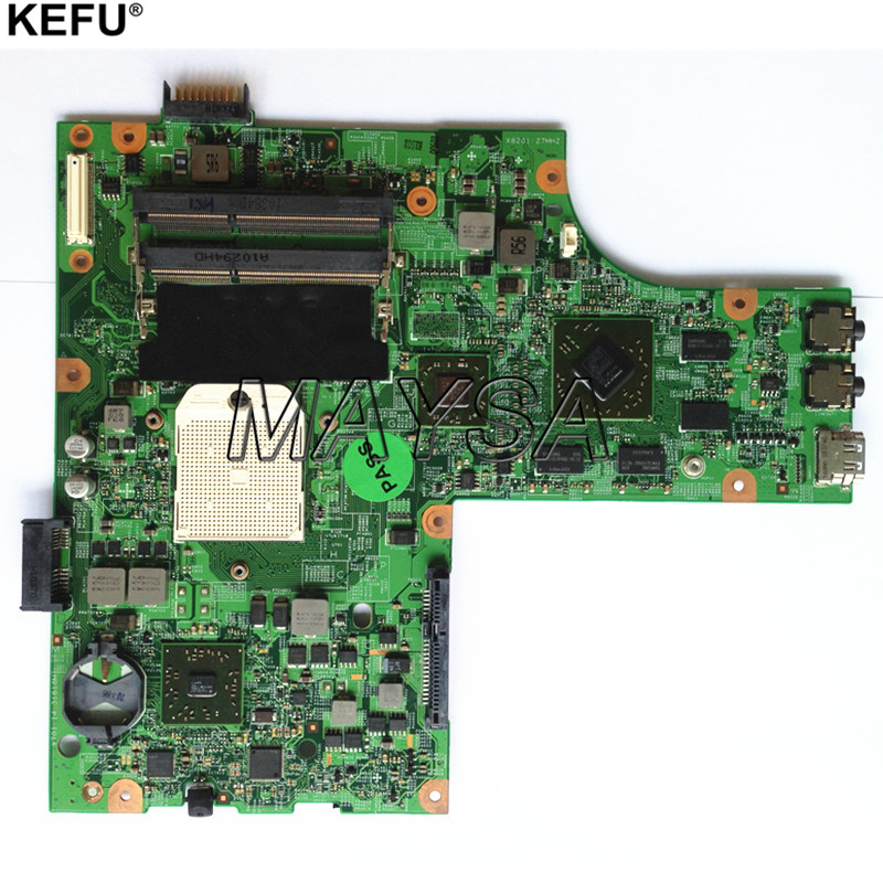 Mainboard FIT for DELL Inspiron 15 M5010 Laptop Motherboard s1 DDR3 HD4650 HNR2M 0HNR2M cn 0hnr2m for dell inspiron 15r m5010 laptop motherboard 48 4hh06 011 amd ddr3 free shipping 100