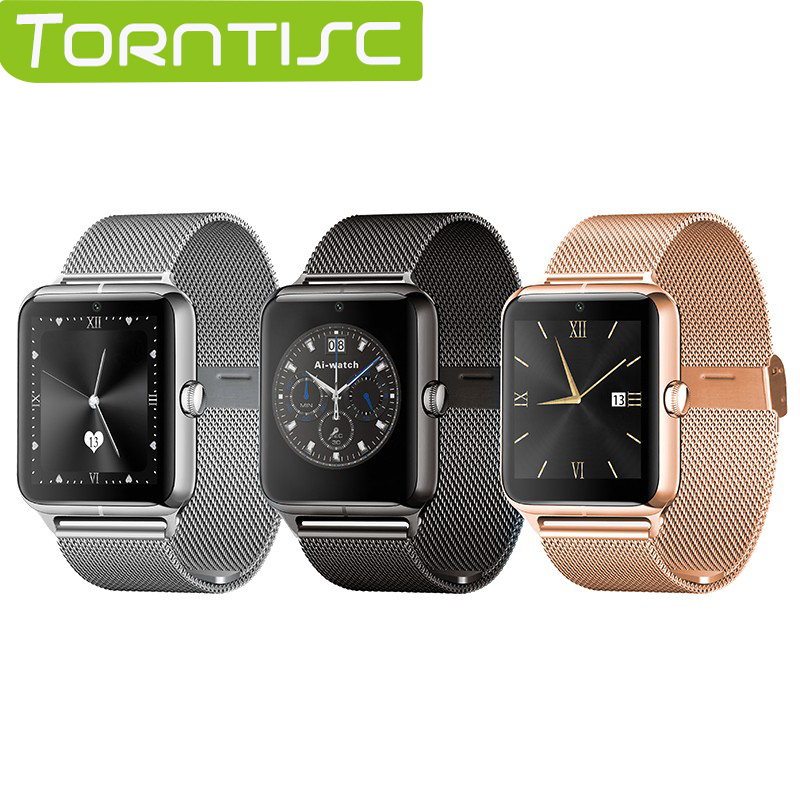 Torntisc 2017 new Z50 Bluetooth Smart Watch smartwatch support SIM card TF mp3 mp4 compatible for