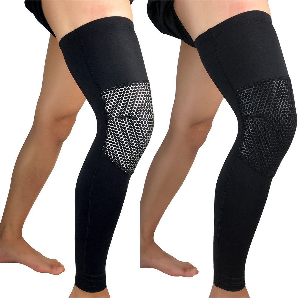 Basketball Protective Gear Sports Protection Knee Pads Thigh Leg Sleeve 1PC LFSPR0063