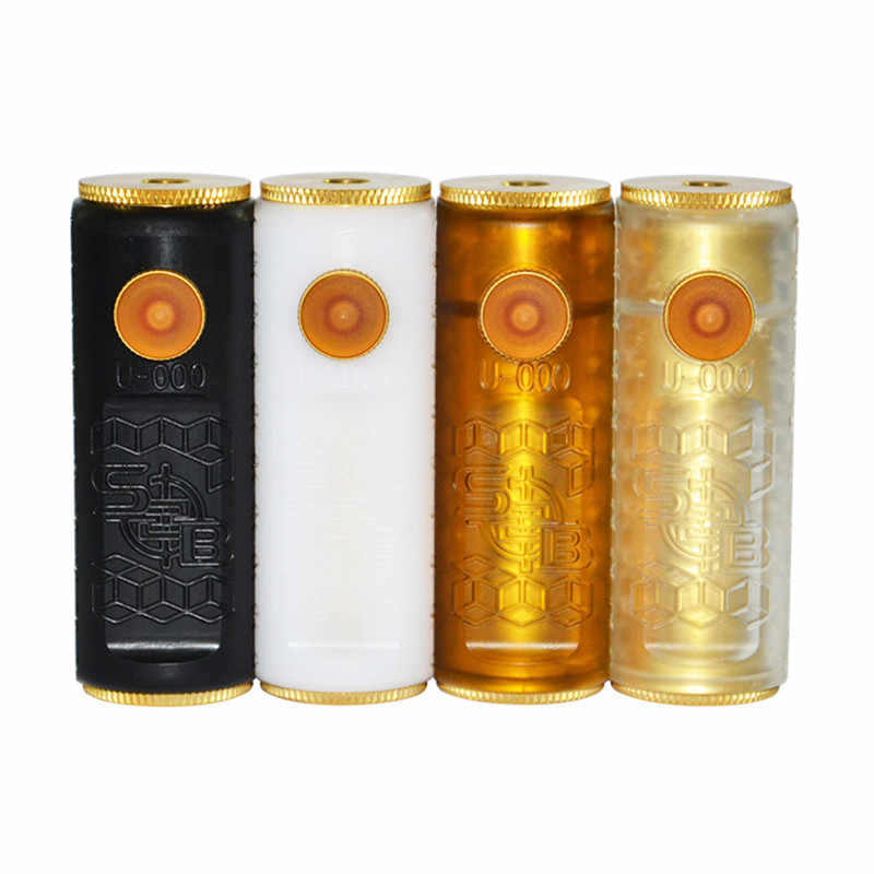 2018 Newest SOB Box Mod and Andromeda rda Vape kit Fit 18650 Battery 510 thread Vape Mech Mod Brass Pei Material Mechanical Mod