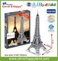 Новый умный и счастливую землю 3d модель головоломка Эйфелева Башня взрослых головоломка diy бумажные варшавского модели игры для детей бумаги