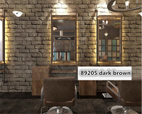 Beibehang Stereoscopic Brick Wall Paper Back To Ancient And Nostalgic Personality Fashion Salon Bar Background 3d