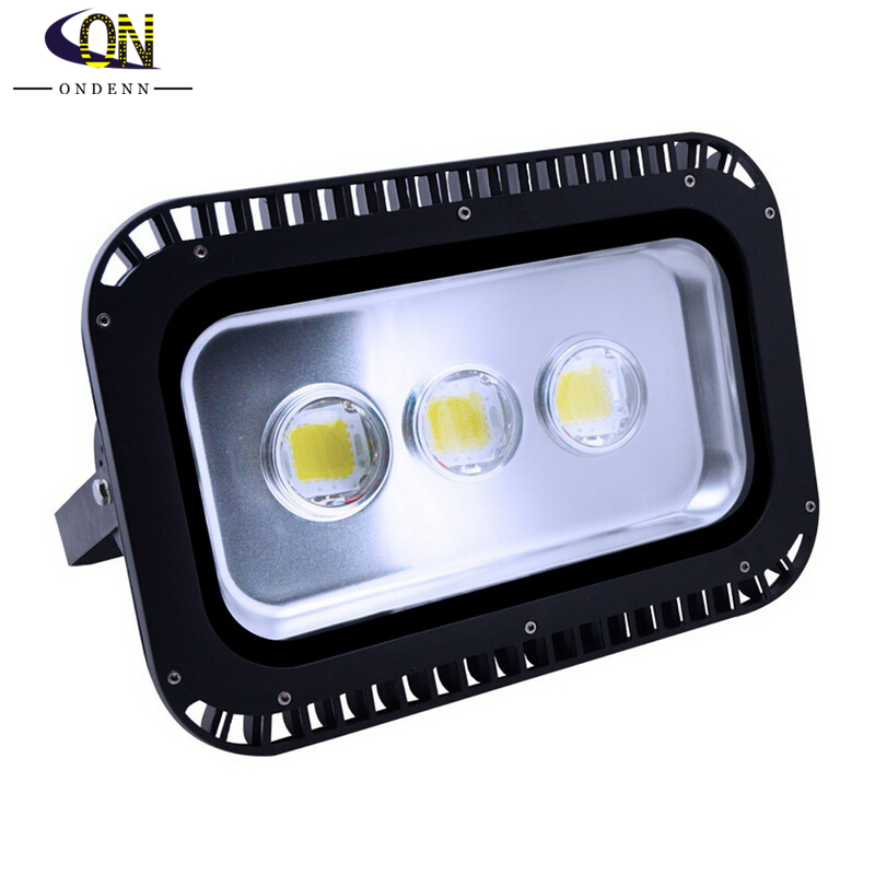 150w High Power Waterproof Ip65 Outdoor Led Flood Lights 400w Hps Or Mh Bulb Equivalent 13500lm Cold White Warm Floodlight In Floodlights From
