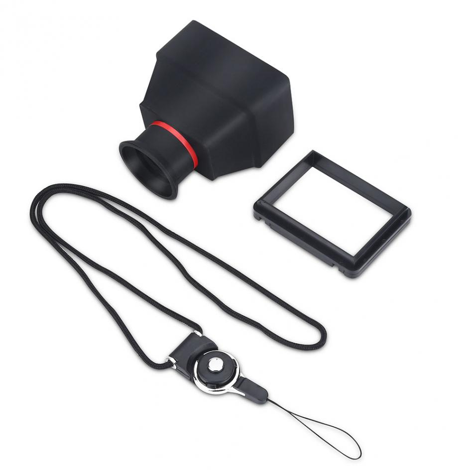 LCD Viewfinder Magnifier-Accessory Dslr-Mirrorless-Cameras Durable 3X