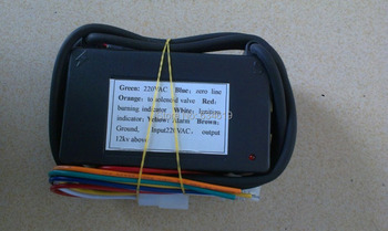 220V / 110V Gas Ignition Spark Control Module, Black Box Gas Lighting Unit, Automatic Eletronic Gas Igniter Distributor 4