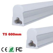 1pc/lot LED Bulbs Tubes 2ft Integrated Tube Light T5 600mm 10W LED tubes AC85-265V SMD2835 Lighting 1000lm LED Fluorescent tubes