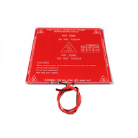 3D Printer Mendel PCB Heatbed MK2B With Led And Resistor And Cable Heated Bed For Mendel