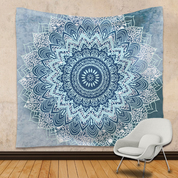 India Mandala Tapices Pared Boho Impreso Beach Mantas Toalla Yoga - Tapices-pared