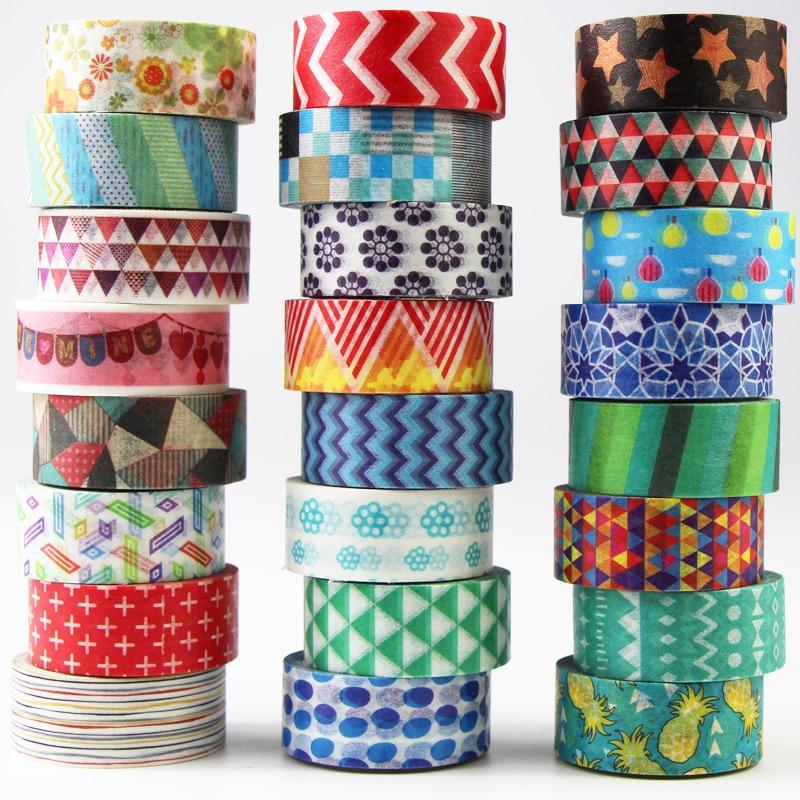 Decorative Masking Tape Collection.... Washi Masking Tape Set of 24