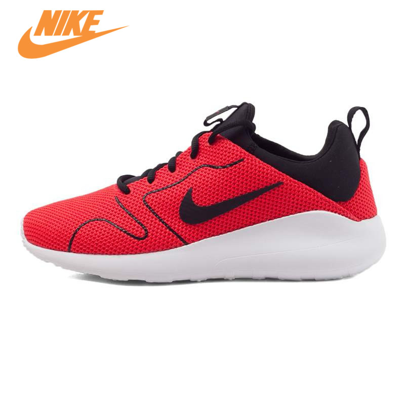 Original NIKE Breathable KAISHI 2.0 SE Men's Running Shoes Sneakers Trainers Red and Blue nike original new arrival mens kaishi 2 0 running shoes breathable quick dry lightweight sneakers for men shoes 833411 876875