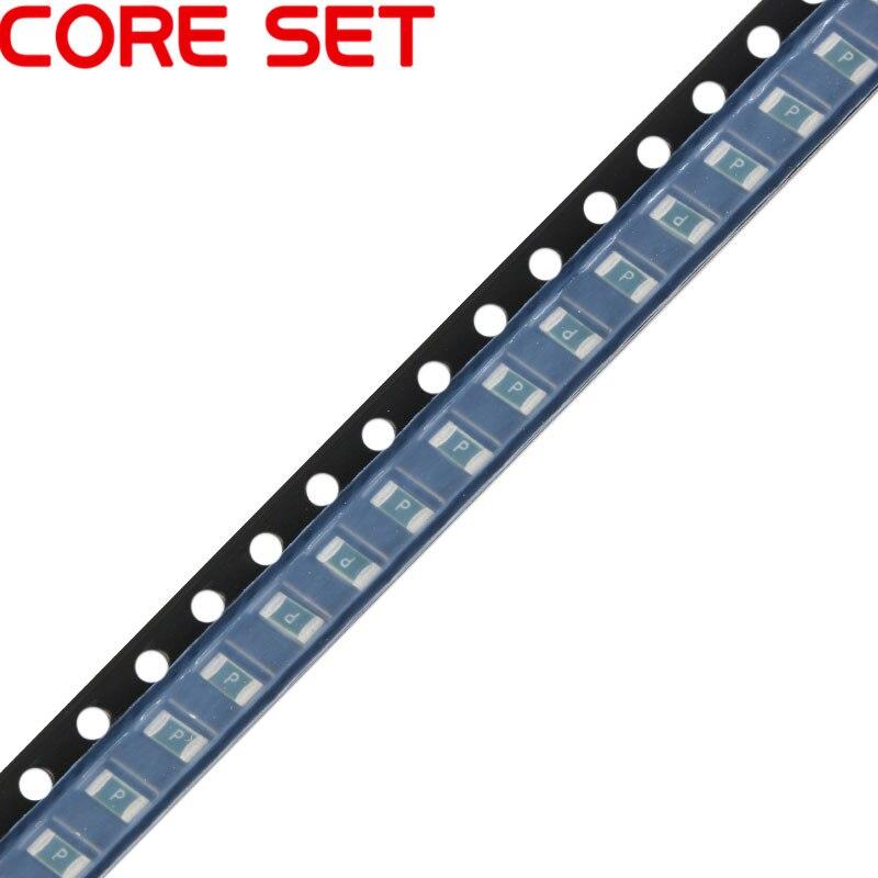 50PCS/Lot 1206 32V 3A SMT SMD Resettable Fuse PPTC CC12H3A-TR PolySwitch Self-Recovery Fuses 50pcs lot smt 2x4mm 2