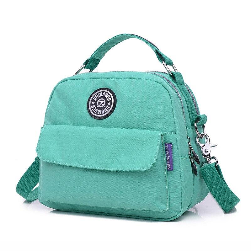 Backpack Crossbody Travel Waterproof Kiple Fashion Shoulder-Bag Female Nylon