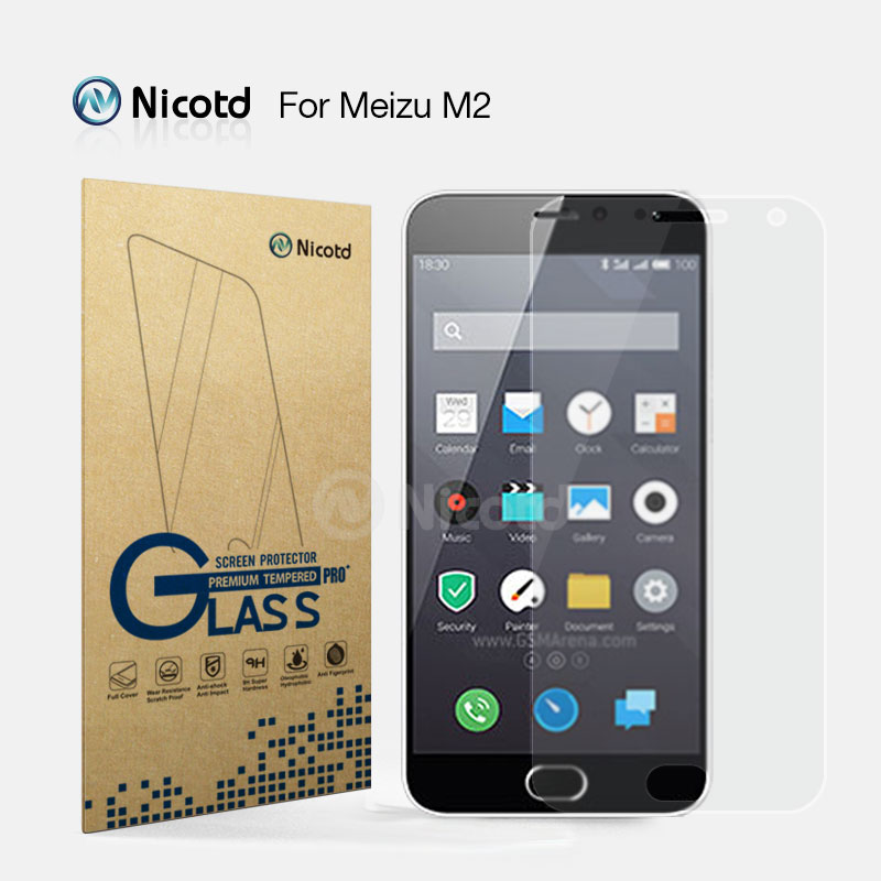 Tempered-Glass-Film Meizu M2 Glass-Protective Matte 9H No for MINI Meilan 2-Screen-Protector/no-Fingerprint