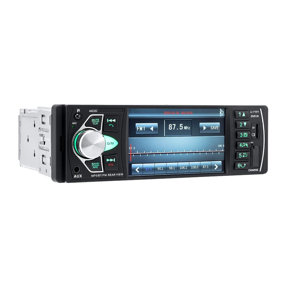 4022D Car Audio Bluetooth Handsfree Car Radio 4.1\