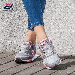 FANDEI spring sport retro running shoes for women leather sneakers women outdoor walking sport shoes woman zapatillas hombre