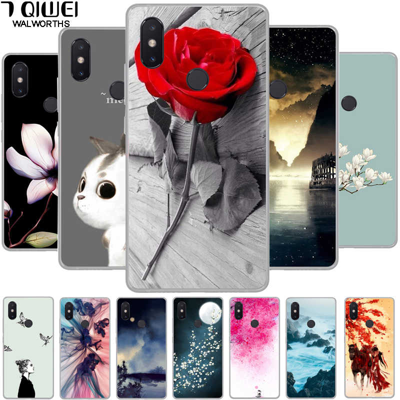 For Xiaomi Mi Max 3 Case Mi Max 3 Cover Silicone TPU Soft Phone Case for Xiomi Xiaomi Mi Max 3 Global MiMax3 MiMax 3 Max3 Case