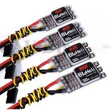 4 шт./лот DYS новая версия XM30A XMS30A BLHeli программа мини 30A V2 ESC для кв Мощность электронный Скорость контроллер