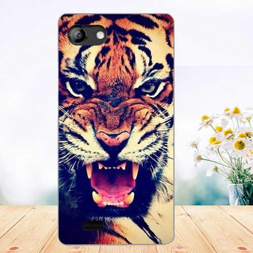 Soft Tpu Phone Case Voor Vertex Impress Luck Gevallen Siliconen Geschilderd Wolf Rose Kat Fundas Sheer Voor vertex impress luck back Cover