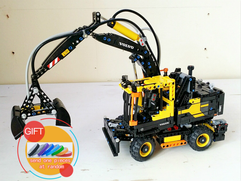 20023 1166Pcs Technical Ultimate Series The Ew160e excavator set Educational Building Blocks Compatible with 42053 toys lepin new technical excavator duplo toys large