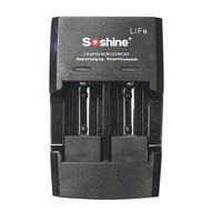 Soshine S5 Fe LifePO4 CR123/CR2 2 Channels Rapid Charger
