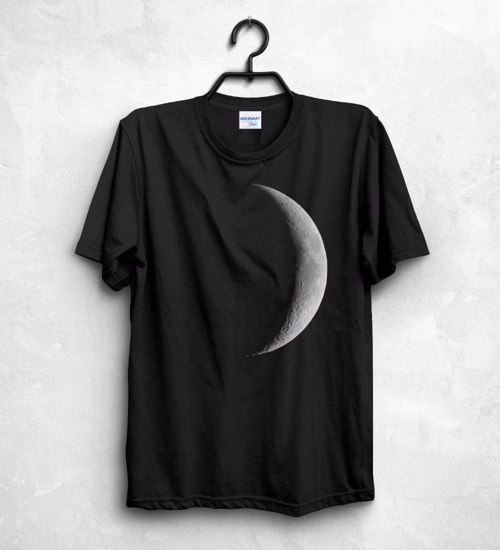 Clothing Sale 100 % Cotton Moon T Shirt Top The Dark Side Of The Moon Lunar Eclipse Pink Fashion Gift Shirts For Men
