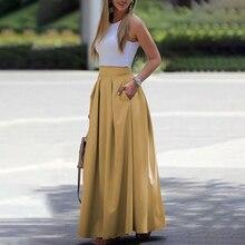 تنورة منفوشة أنيقة مع توب راقي موسم الصيف
