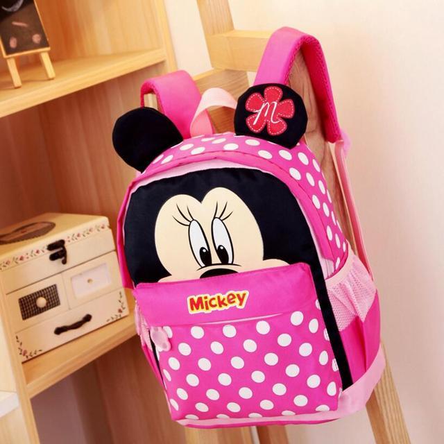 008cd9c881e kids kindergarten backpack kid school bags Satchel for boys and girls free  shipping 2017 Cartoon Mickey children backpacks