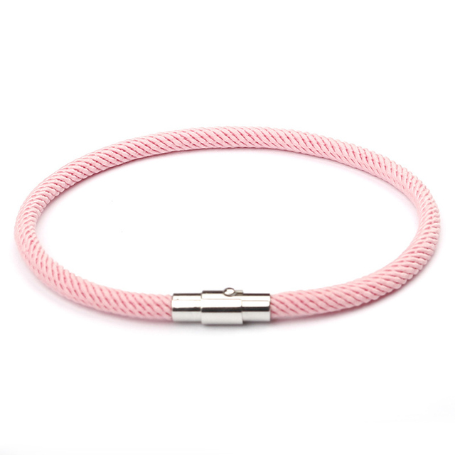 NIUYITID Red Thread Bracelet Women Men Silver Color Magnetic Buckle Charm Girl's Gift Jewellery Wholesale Price pulsera roja 5