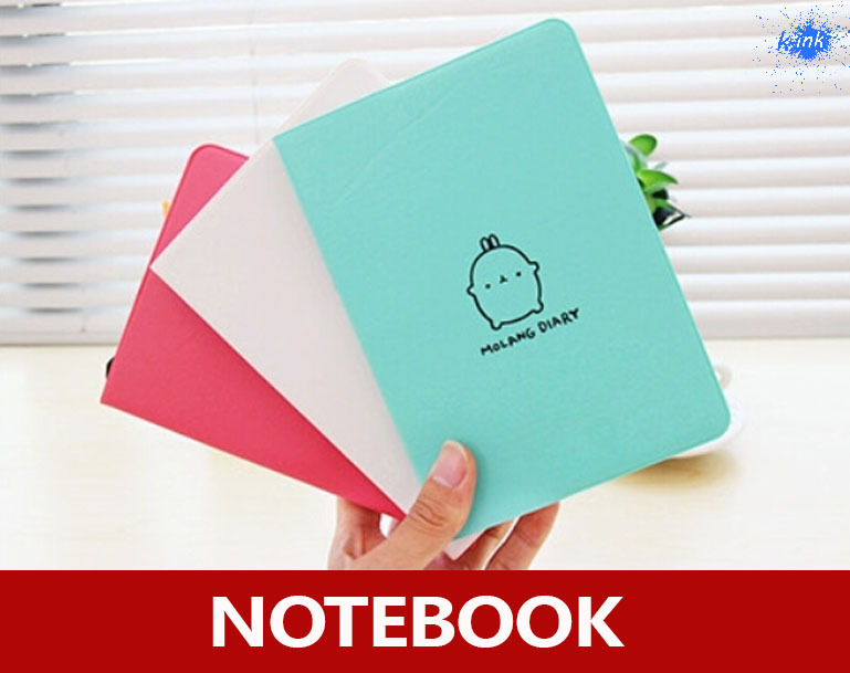 купить 2015 New faux leather molang rabbit notebook as weekly planner 2015 calendar , daily memos / notepads недорого