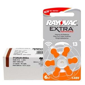 Image 3 - 180 sztuk RAYOVAC EXTRA Zinc Air Performance aparaty słuchowe A13 13A 13 P13 PR48 bateria do aparatu słuchowego A13 darmowa wysyłka