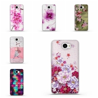 3D Relief Floral Case for Huawei Ascend Y5 II 2 Y5II Soft TPU Cover Coque For Huawei honor 5A LYO-L21 Y5 ii Case Y5II 2 5.0