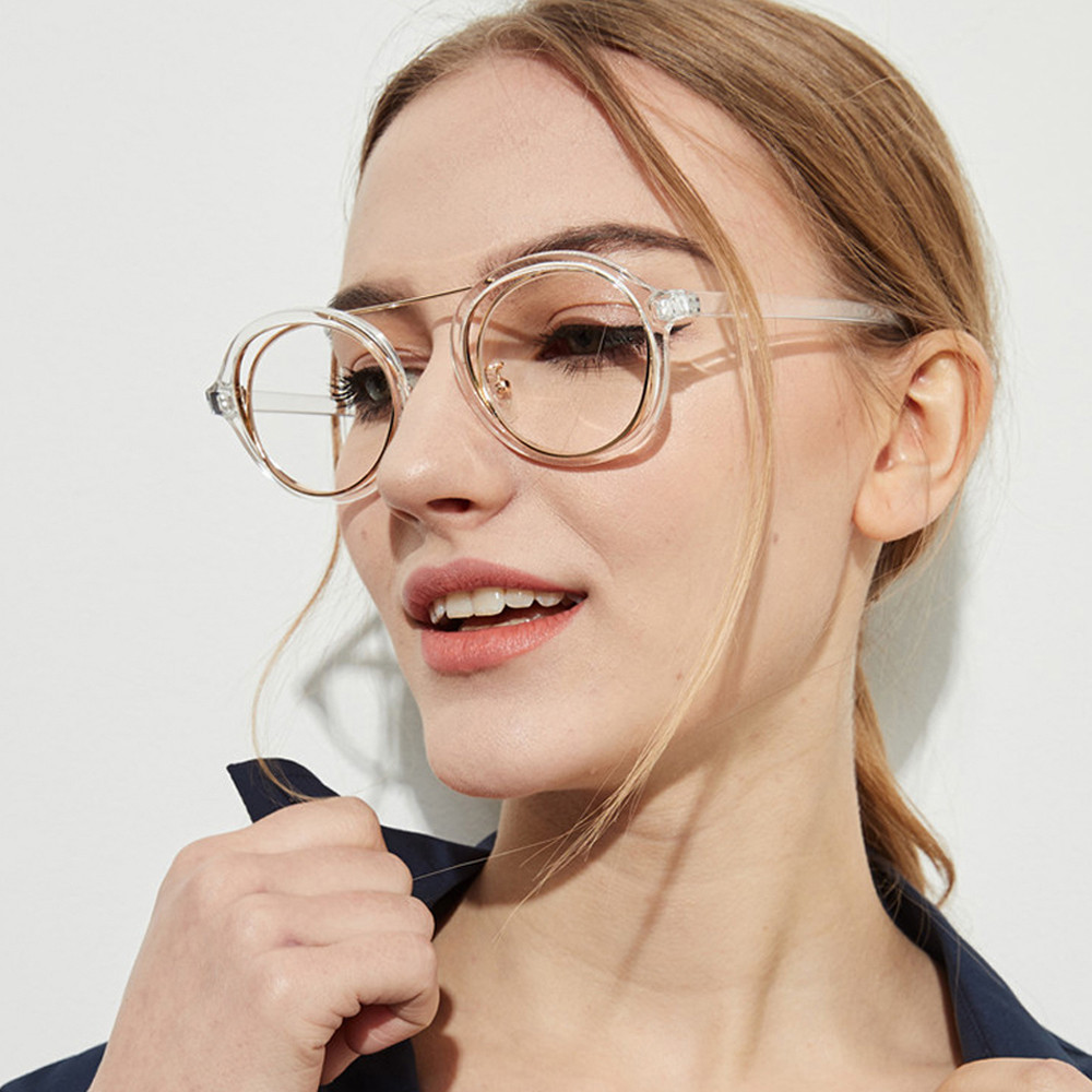 Sunglasses Womens Retro Vintage Round Frame UV Glasses Sunglasses eyeglasses gafas oculos des lunettes For Female #15