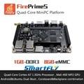 FirePrimeS Quad-Core ARM Cortex-A7 Processors Development Board , RK3128 , Support Ubuntu15.04 and Android5.1 demo board