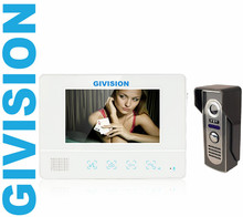 7inch LCD wired home video font b door b font phone intercom security system outdoor font
